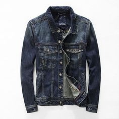 Find More Jackets Information about Free Shipping 2015 big size Spring Autumn men clothing jeans jacket for men fashion motorcycle jeans jacket denim coat jacket,High Quality clothing vest,China jacket uniform Suppliers, Cheap jacket brazil from New More One on Aliexpress.com