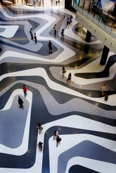 "kinda loving this floor: ""Iluma (by Architecture firm, WOHA) is an entertainment and retail development, located at the famous Bugis Street area in Singapore, now a designated arts, education and entertainment district."""