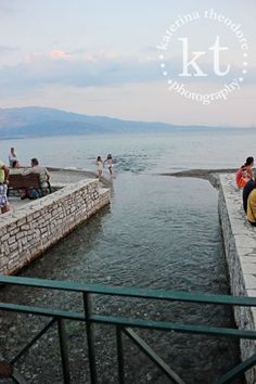 Katerina Theodore Photography | outlet - Nafpaktos, Greece #Mediterranean #sea #water #outlet #Nafpaktos #Greece #shore