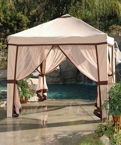 Take a look at this Oasis Patio Cabana by RST OUTDOOR on #zulily today!