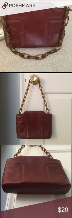 DKNY leather purse Cute leather bag DKNY Bags Shoulder Bags