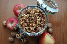 Domácí müsli slazené jablíčky Acai Bowl, Dog Food Recipes, Oatmeal, Cooking, Breakfast, Fitness, Diet, Acai Berry Bowl, The Oatmeal
