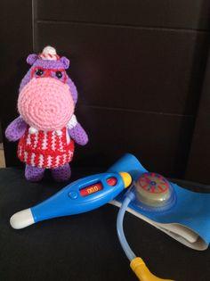 Halley, hippo, crochet, amigurumi, doctora juguetes, www.facebook.com/lunaticosMR