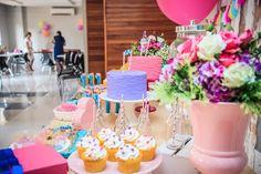 Festa Ginastas | Macetes de Mãe Festa Party, Cake, Up, Desserts, Gymnastics Party, Candy Table, Fiestas, Creativity, Tailgate Desserts