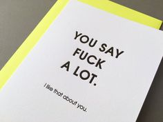 This heartfelt card. | 22 Fucking Adorable Valentine's Gifts For Baes Who Love Cursing
