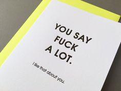 A heartfelt card.