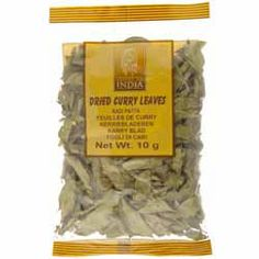 Buy Curry Leaves online from Spices of India - The UK's leading Indian Grocer. Free delivery on Curry Leaves (conditions apply). Curry Leaves, Indian Dishes, The Dish, Chutney, Indian Food Recipes, Conditioner, Spices, How To Apply, Herbs