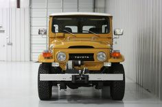 1977-fj40-toyota-land-cruiser-clean-restored-mustard-4×4-frame-off-a | Land Cruiser Of The Day!