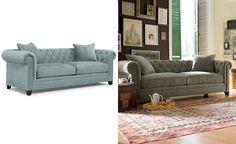 Martha Stewart Collection Saybridge Fabric Sofa: Custom Colors - Couches & Sofas - Furniture - Macy's