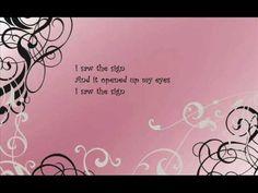 Ace of Base- I Saw The Sign With Lyrics