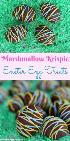 Want to surprise your family with a fun Easter dessert? Their mouths are going to be watering when you share these delicious Marshmallow Krispie Easter Egg Treats!