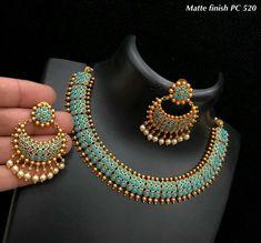 Ideas Jewerly Necklace Stone Jewellery For 2019 Indian Jewelry Earrings, Indian Jewelry Sets, Jewelry Design Earrings, Indian Wedding Jewelry, Gold Jewellery Design, Beaded Jewelry, Jewellery Box, Gold Jewelry, Pakistani Jewelry