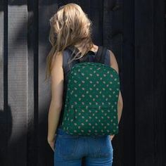 This Women's Ginger Backpack is made for you! Perfect for daily use or sports activities! The pockets (including one for your laptop) give plenty of room for all your necessities, while the water-resistant material will protect them from the weather. Black Backpack, Are You The One, Backpacks, Sports Activities, Laptop, Weather, Pockets, Room, Fashion