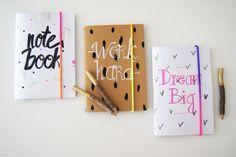 DIY : Customiser ses cahiers