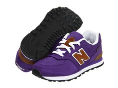 New Balance Kids KL574 (Toddler/Youth) Purple - Zappos.com Free Shipping BOTH Ways