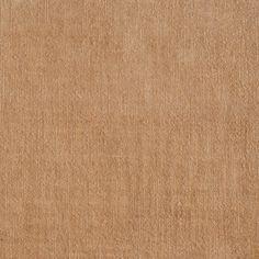 ANICHINI Fabrics | Velluto Velvet Linen palomino Residential Fabric - a brown linen velvet fabric