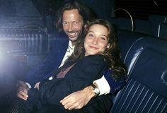 Carla Bruni and Eric Clapton