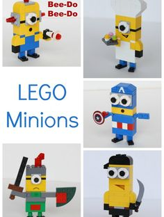 More LEGO Minions to Build! And tons of other Lego projects!!!!!