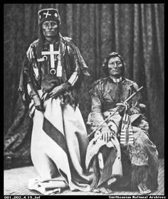 Little Wolf and Dull Knife, Cheyenne indians