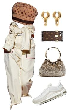 A fashion look from November 2017 featuring valentino handbags, gold jewelry and Louis Vuitton. Browse and shop related looks. Boujee Outfits, Kpop Fashion Outfits, Stage Outfits, Cute Casual Outfits, Polyvore Outfits, Stylish Outfits, Polyvore Fashion, Streetwear Mode, Streetwear Fashion