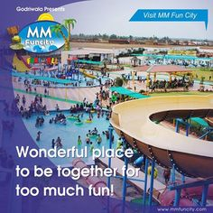 #Wonderful place to be together for too much #fun! Visit #MMFunCity. For More: https://goo.gl/Su9dWZ #WaterPark #Chhattisgarh #Raipur