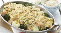 Carbonara i form Pasta, Mozzarella, Potato Salad, Spicy, Bacon, Potatoes, Meat, Chicken, Ethnic Recipes