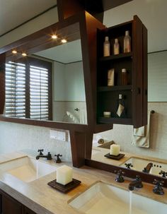Beijing Penthouse - contemporary - Bathroom - New York - BWArchitects (formerly Basil Walter Architects)