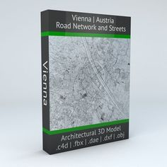 Vienna Road Network and Streets | 3D model