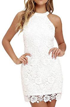 Best deal on Berydress Women's Sleeveless Sheath Short Lace Dress (US4, #6010_White) discover this and many other bargains in Crazy by Deals, we bring daily the best discounts for you