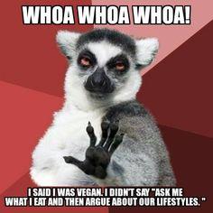 How to spot a vegan, vegan lifestyle, vegan meme