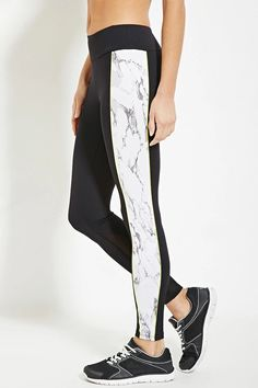 Active Marble Print Leggings | Forever 21 #f21active