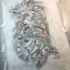 Tattoos - Tattoos You are in the right place about Tattoos Tattoo Design And Style Galleries On The Net – Ar - Tattoo Design Drawings, Tattoo Sketches, Drawing Sketches, Tattoo Designs, Top Tattoos, Body Art Tattoos, Sleeve Tattoos, Greek Mythology Tattoos, Greek Goddess Tattoo