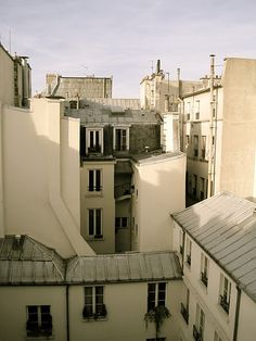 roof tops of paris French Architecture, Beautiful Architecture, Paris Images, Transitional House, World Cities, Shop Interiors, Oh The Places You'll Go, Mansions, Interior Design