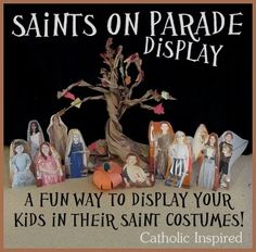An All Saints Day Display with a Twist! | Catholic Inspired