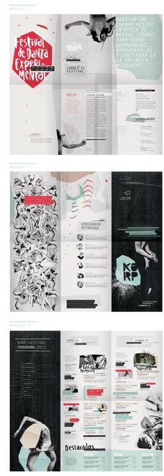 folder / KORP. Festival de Danza Experimental - Parte I