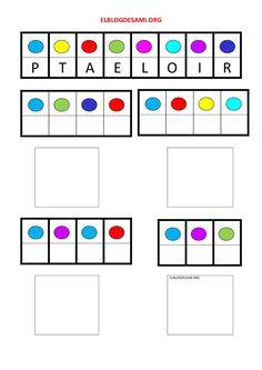 Objetivo(s):  Estimular y reforzar la percepción visual y el aprendizaje de conceptos matemáticos: igual. … Leer más