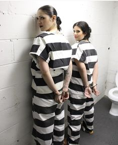 Hollween Costumes, Prison Jumpsuit, Ladies Fancy Dress, Halloween Costumes For Girls, Short Sleeve Dresses, Female, How To Wear, County Jail, Outfits