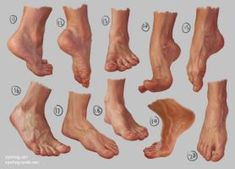Feet Study 2 - Steps by irysching on DeviantArt Leg Reference, Human Reference, Figure Drawing Reference, Anatomy Reference, Photo Reference, Foot Anatomy, Anatomy Poses, Anatomy Art, Anatomy Sketches