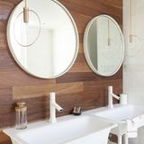 People spend more and more time in their bathrooms these days, and are thinking more and more about their design. As a result, the look of these rooms is changing. If you're thinking of renovating or building a house (or just like the eye candy!), here are five of the top trends for modern baths.