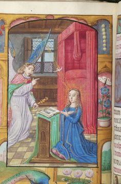 Book of Hours, M.363 fol. 41v - Images from Medieval and Renaissance Manuscripts - The Morgan Library & Museum