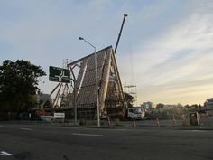 Shigeru Ban's Cardboard Cathedral Underway in New Zealand,Courtesy of Christchurch City Libraries' Flickr