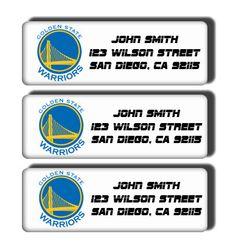 Goldenstate Warriors NBA Basketball Team  Custom by DreamLabels, $5.00