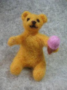 TeddyBearFingerPuppet,Yellow