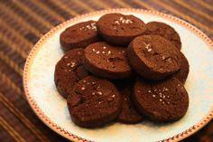 Čokoladni piškoti s solnim cvetom | NaredilaAna