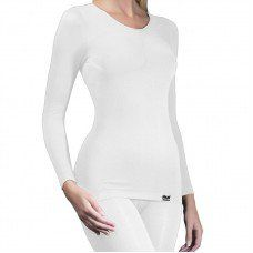 Womens Long Sleeved Winter Warm T-Shirt - Thermal Underwear Made by Britwear in #Leicestershire - £9.95