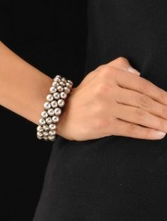 Drop Silver Bracelet