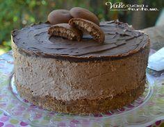 Torta fredda ai grisbì ricetta golosa e senza cottura
