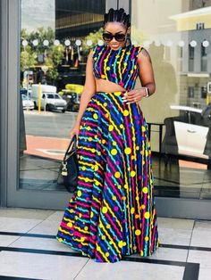 Ankara Clothing, African Print, Ankara Dress - Women's style: Patterns of sustainability African Dresses Plus Size, African Dresses For Kids, African Maxi Dresses, African Fashion Ankara, Latest African Fashion Dresses, African Print Fashion, African Attire, Ankara Dress, Ankara Fabric