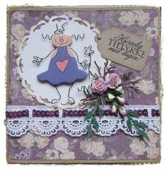 pipserier - girl card