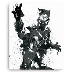 Civil War Black Panther Poster